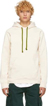 Acne Studios Off-White Bla Konst Fleece Hoodie