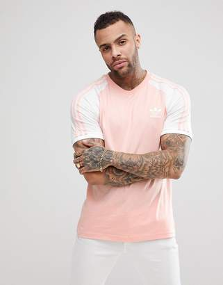 huge selection of 14e57 3295c adidas adicolor Raglan California T-Shirt In Pink CV6000