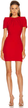 Alexander McQueen Mini Day Dress in Lust Red | FWRD