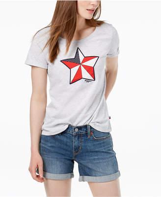 Tommy Hilfiger Star Logo Graphic T-Shirt