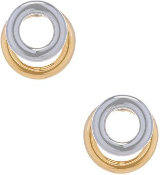 Alexander Wang Double Ring Earring