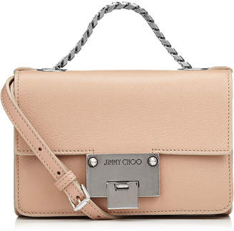 Jimmy Choo REBEL SOFT MINI Ballet Pink Leather Mini Cross Body Bag