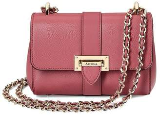 Aspinal of London Micro Lottie Bag In Blusher Saffiano