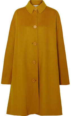 Mansur Gavriel Wool And Cashmere-blend Coat - Yellow