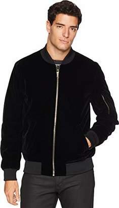 Sean John Men's Velvet Bomber Jacket