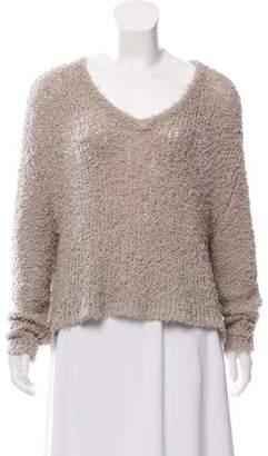 J Brand Shaggy Long Sleeve Sweater