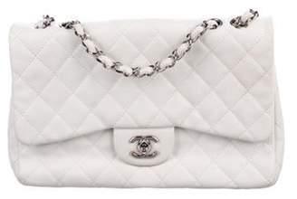Chanel Classic Jumbo Single Flap Bag White Classic Jumbo Single Flap Bag