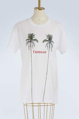 Zoe Karssen L'Amour boyfriend-cut T-shirt