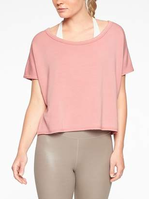 Athleta Unwind Crop Sweatshirt
