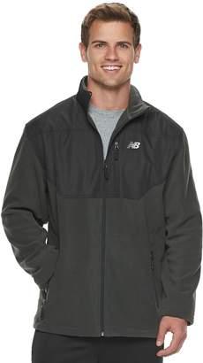 New Balance Men's Colorblock Polar Fleece Jacket