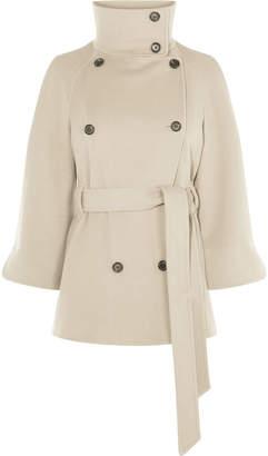 Karen Millen Italian Wool Cape Coat
