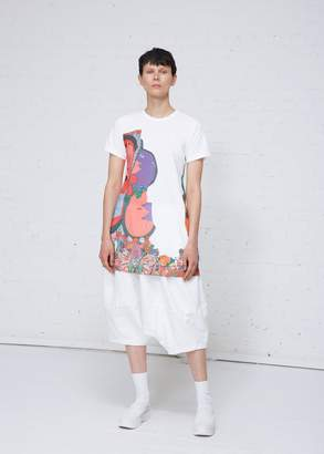 Comme des Garcons Graphic Print Dress