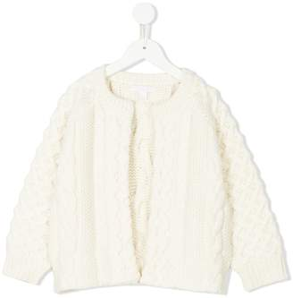 Burberry cable knit cardigan