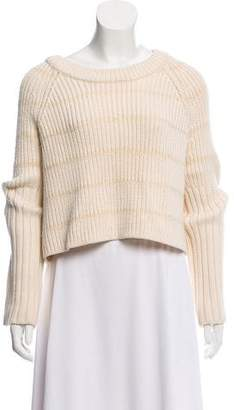 Ellery Wool Knit Crop Top