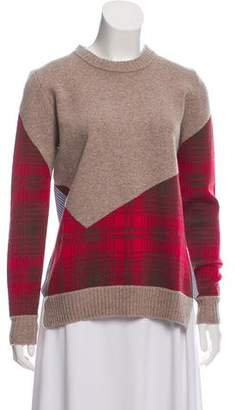 Thakoon Addition Accented Long Sleeve Sweater