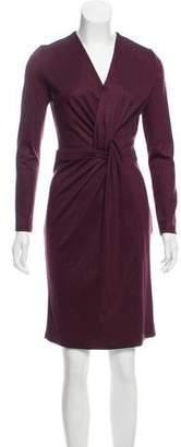 Salvatore Ferragamo Knit Knee-Length Dress