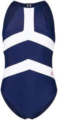 Perfect Moment contrast stripe one piece
