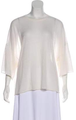 Helmut Lang Long Sleeve Cashmere Top