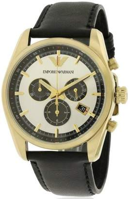 Emporio Armani Sportivo Leather Chronograph Men's Watch, AR6006