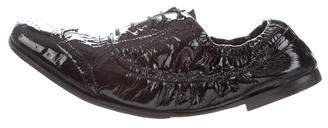 Miu Miu Patent Leather Oxfords