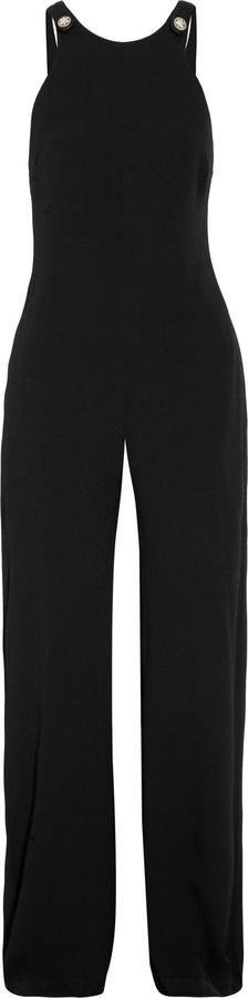 L'Agence Crepe wide-leg jumpsuit