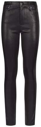 AG Jeans Farrah Skinny Leather Jeans
