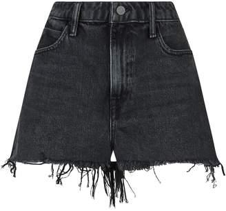 Alexander Wang Frayed Bite Shorts
