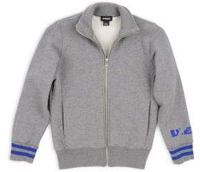 Diesel Little Boy's& Boy's Zip Up Sweatshirt