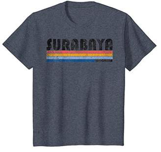 Vintage 1980s Style Surabaya Indonesia T-Shirt