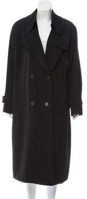 Aquascutum London Wool Trench Coat