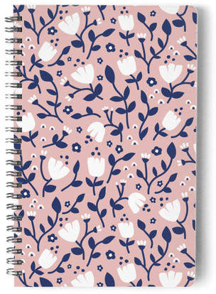 Spring Tulips Self-Launch Notebook