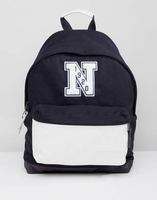 Eastpak x New Era Wyoming Backpack in Felt & Leather 24L
