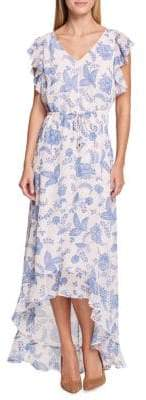 Tommy Hilfiger Riviera Floral Hi-Lo Dress
