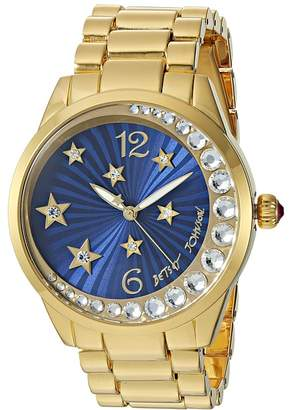 Betsey Johnson BJ00495-33 - Star and Moon Watches
