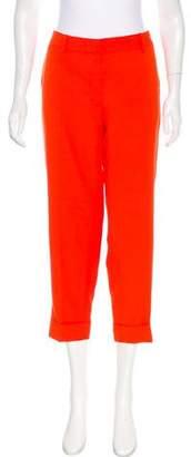 Stella McCartney Mid-Rise Cropped Pants