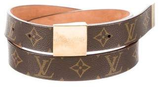 Louis Vuitton Monogram Ceinture Carre Belt