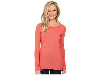 The North Face Long Sleeve Go Seamless Wool Top Women's Long Sleeve Pullover