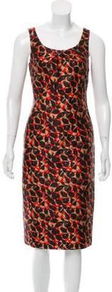 LK Bennett Printed Midi Dress