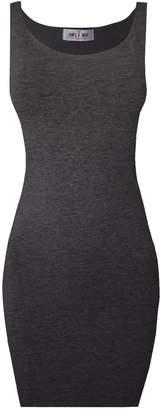 Toms Tom's Ware Women Classic Slim Fit Tank Bodycon Mini Tee Dress TWCWD068-S (US XS/S)