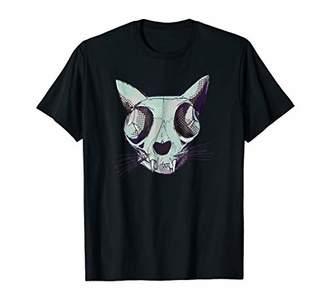 Holidaze Cat Skull T-Shirt