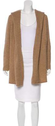 Vince Hooded Knit Cardigan