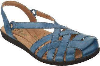 Earth Origins Leather Closed Toe Sandals - Nellie