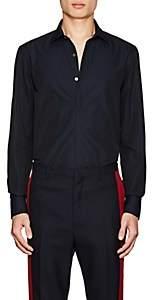 Lanvin Men's Cotton Poplin Dress Shirt-Navy