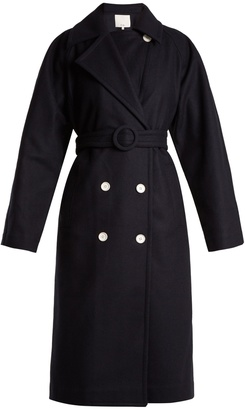 Tibi Notch-lapel double-breasted coat