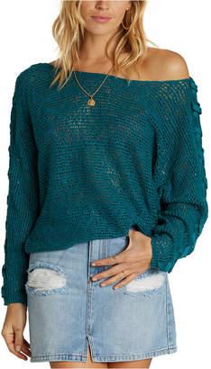 Billabong Juniors' Lace-Up Sweater
