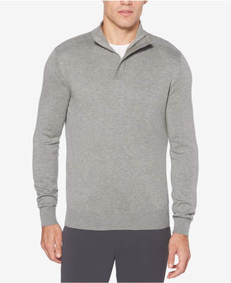 Perry Ellis Men Quarter-Zip Sweater