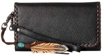 M&F Western Tegan Clutch Clutch Handbags