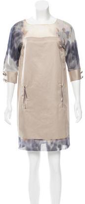 Rachel Roy Watercolor Mini Dress $85 thestylecure.com