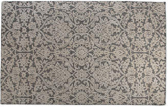 Mackenzie Childs Ivory Scroll Rug, 5' x 8'