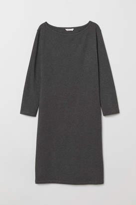 H&M Short Jersey Dress - Gray